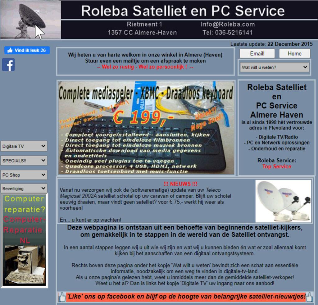 Roleba Satelliet Serivce